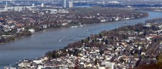 Rhein in Flammen in Bonn