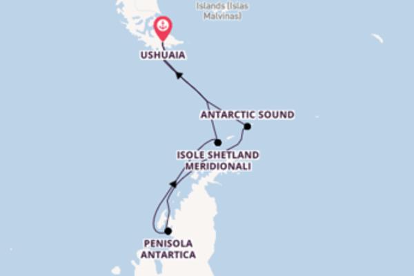 13 giorni verso Ushuaia passando per Canale di Drake