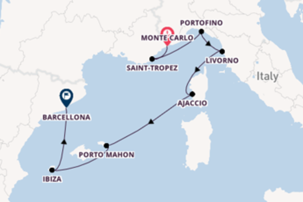 Scopri Porto Mahon e Barcellona