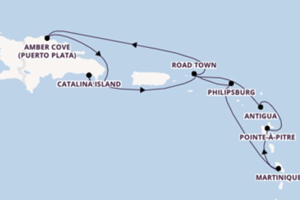 11 Tage auf der Costa Fortuna verbringen