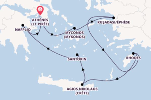 Croisière de 8 jours depuis Le Pirée avec Silversea