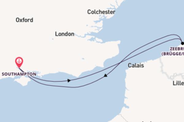 Faszinierende Reise nach Southampton