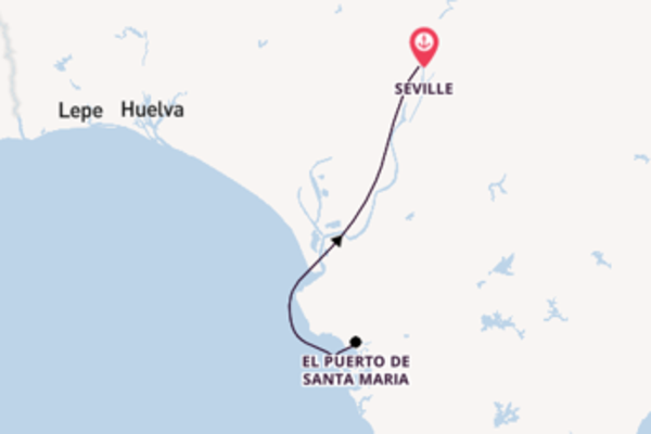 8 day expedition from Seville