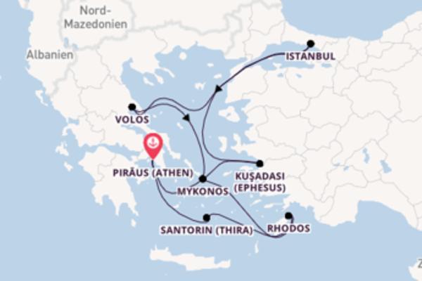 Entdecken Sie 8 Tage Volos und Piräus (Athen)
