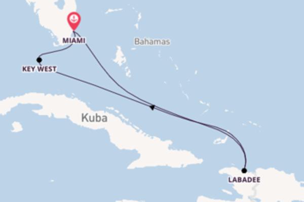 Einmalige Reise nach Miami