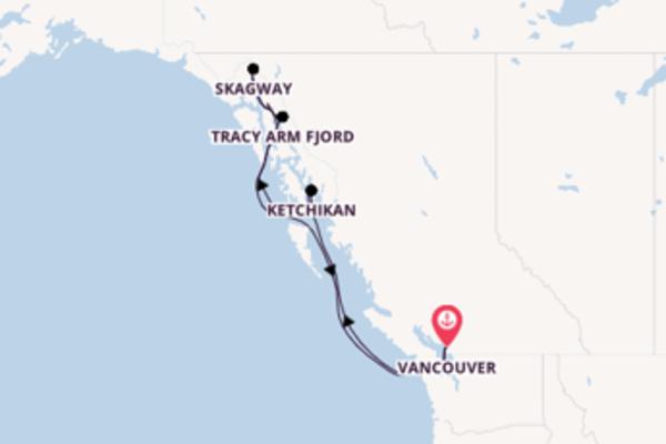 Entdecken Sie 8 Tage Inside Passage und Vancouver