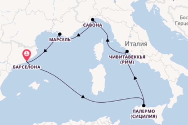 Неотразимое путешествие на Costa Toscana