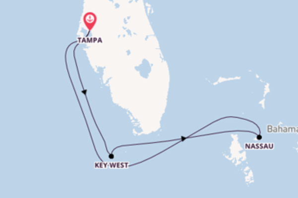 5 day expedition on board the Brilliance of the Seas from Tampa