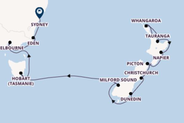 Belle balade de 18 jours à bord du bateau Azamara Journey