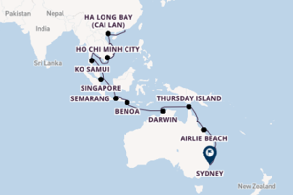 Cruise with Regent Seven Seas Cruises from Hong Kong