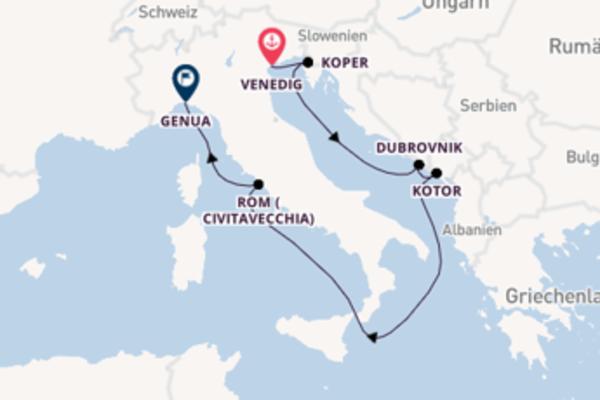 Großartige Reise nach Genua