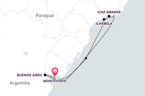 Relaxe a bordo do Costa Pacifica em 9 dias