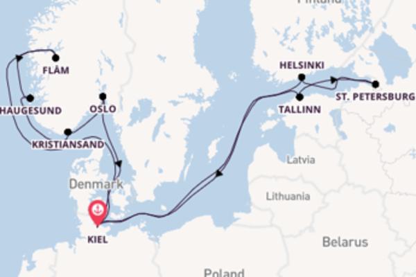 Cruise met AIDA Cruises naar Oslo