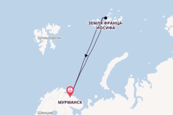 Северный полюс на ледоколе