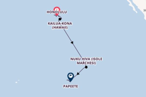 Crociera da Honolulu verso Nawiliwili