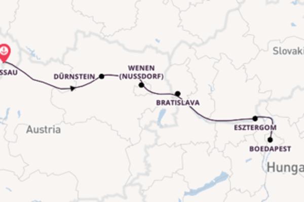 Bratislava bezoeken met de Adora