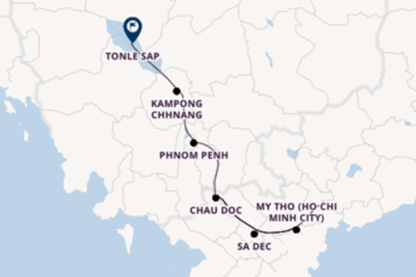 Expedition from Ho Chi Minh City with the RV Indochine