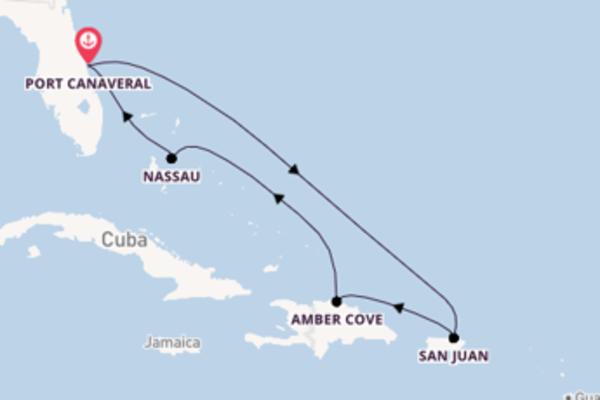 Lasciati conquistare da San Juan arrivando a Port Canaveral