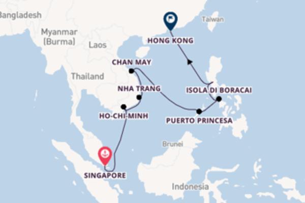 15 giorni verso Hong Kong passando per Hong Kong