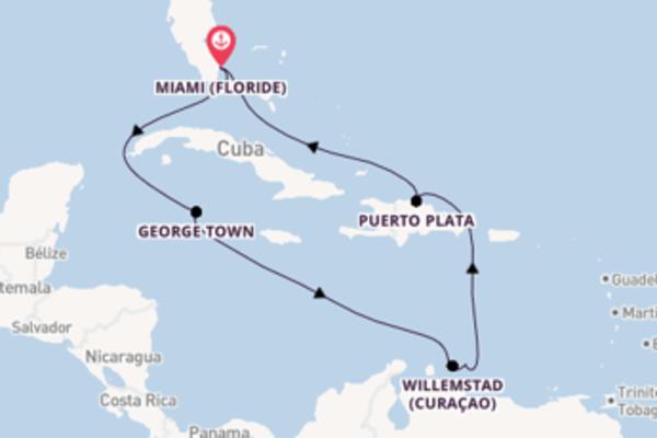 10 jours de navigation à bord du bateau Norwegian Getaway depuis Miami (Floride)