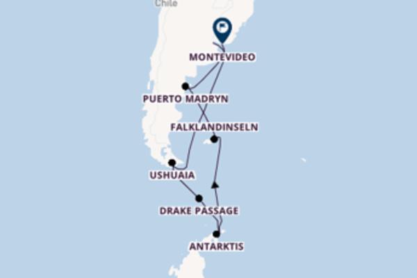 19 Tage unterwegs mit der Fridtjof Nansen