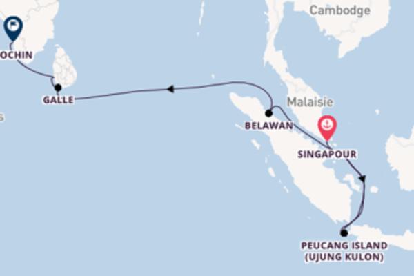 Charmante balade de 17 jours au départ de Singapour