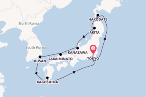 Sensational cruise from Tokyo with Royal Caribbean