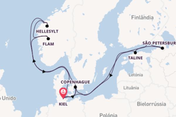 Navegue a bordo do MSC Virtuosa em 15 dias