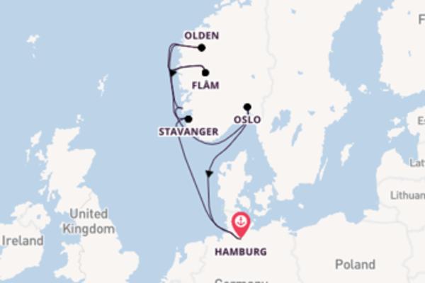 De pracht van het verrassende Stavanger