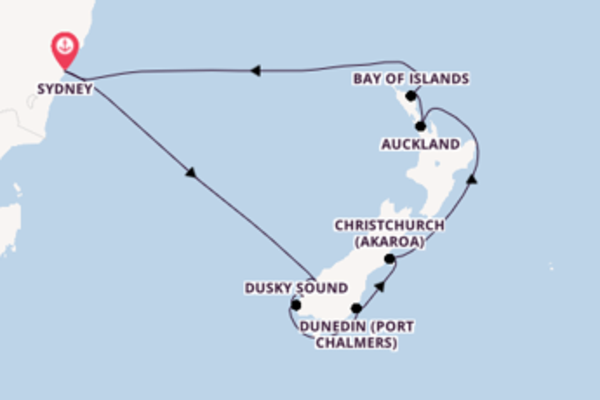 12 day cruise with the Celebrity Eclipse to Sydney