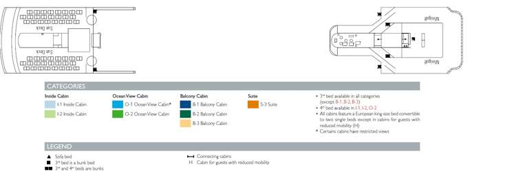 MSC Opera Deck 13 Minigolf/Sundeck