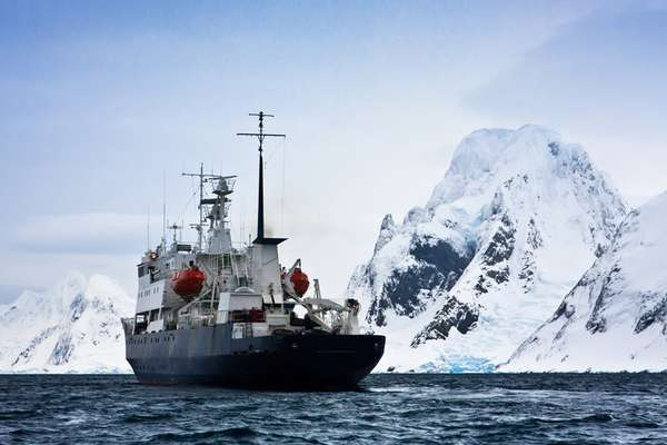 Pourquoi Pas Island, Antarctica