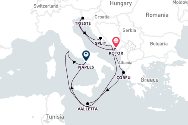 Experience Mesmerizing Trieste from Rome