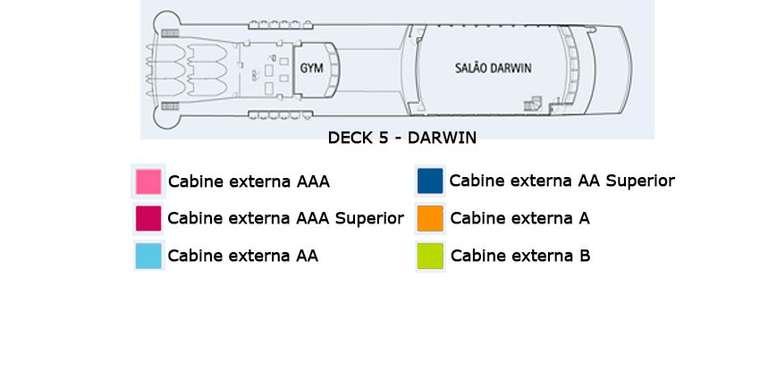 Stella Australis Deck 5 - Darwin