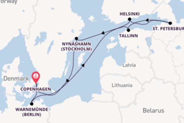 Voyage with Norwegian Cruise Line from Copenhagen