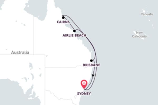 Wonderful Brisbane from Sydney with Celebrity Solstice