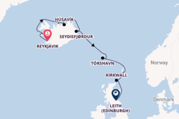 13-daagse cruise vanaf Reykjavik