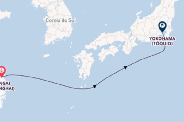 Navegue a bordo do MSC Bellissima em 4 dias
