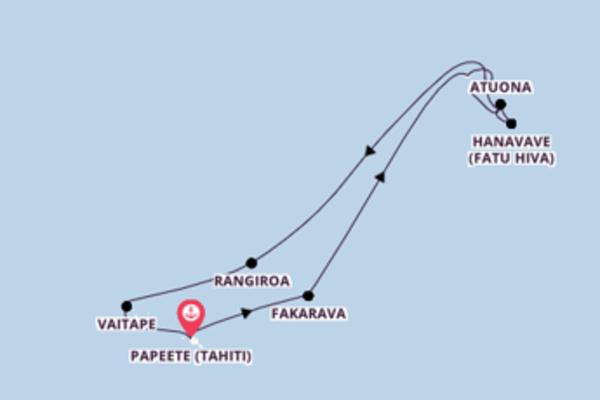 Faszinierende Reise mit der Aranui 5