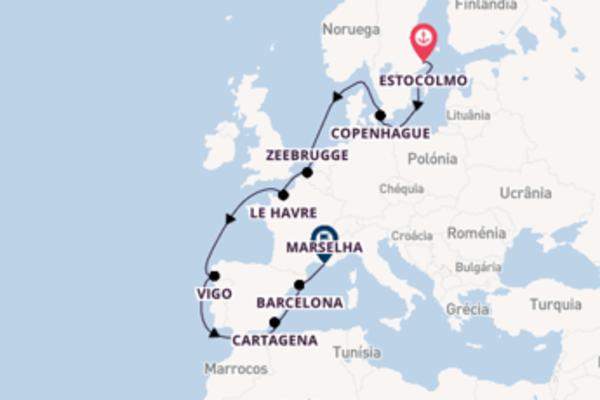 Imperdível cruzeiro até Marselha