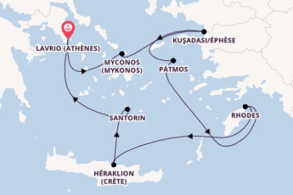 Admirez avec Celestyal Cruises, la destination: Héraklion (Crète)