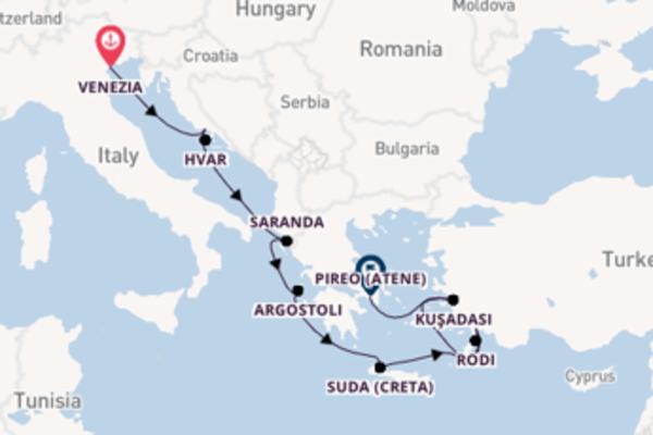 Destinazione Pireo (Atene) da Venezia
