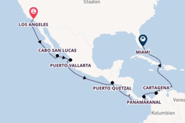 Bereisen Sie 17 Tage Cartagena und Miami