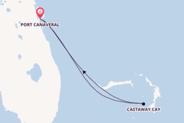 4 jours de navigation à bord du bateau Disney Dream vers Port Canaveral