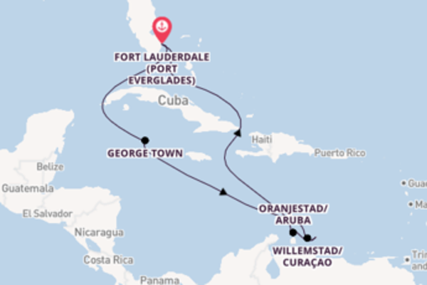 10 day cruise with the Celebrity Equinox to Fort Lauderdale (Port Everglades)