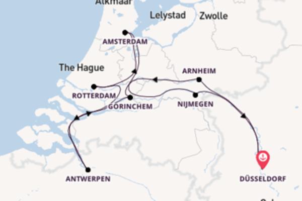 Beeindruckende Reise ab Düsseldorf