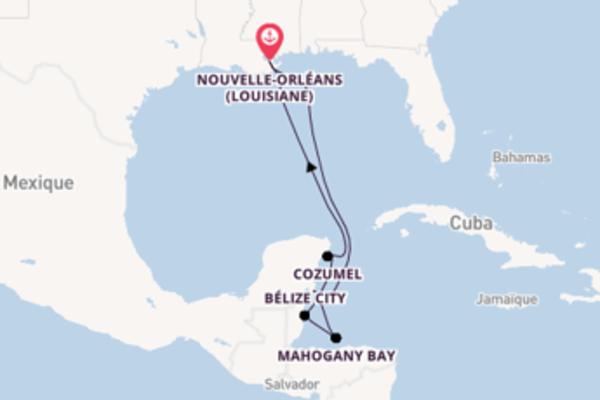 Incontournable croisière de 9 jours avec Carnival Cruise Lines