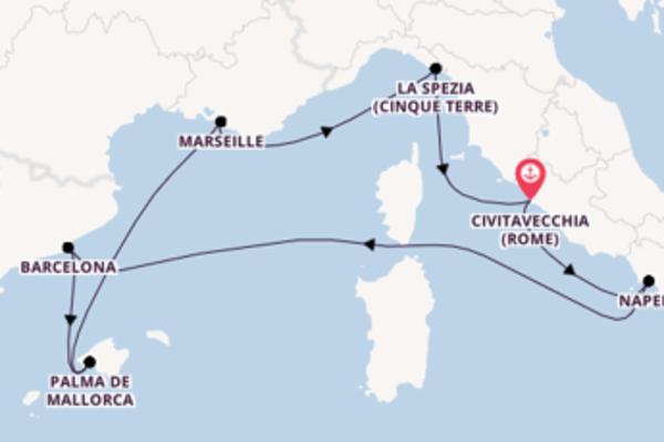 Vaar met de Harmony of the Seas® naar Civitavecchia (Rome)