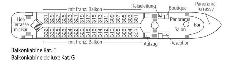 Gloria Deck 3 Orion
