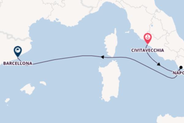 Attraente viaggio di 4 giorni verso Napoli a bordo di Harmony of the Seas